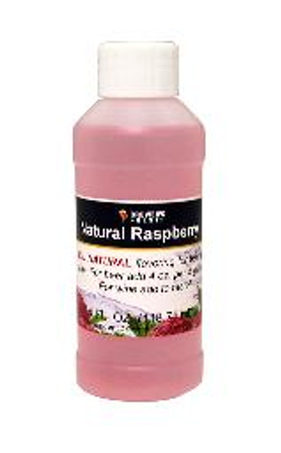 Raspberry Natural Fruit Flavoring Extract 4 oz (SL67)