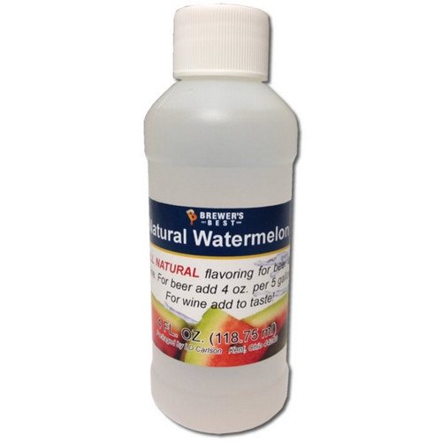 Watermelon Natural Fruit Flavoring Extract 4oz (SL67)