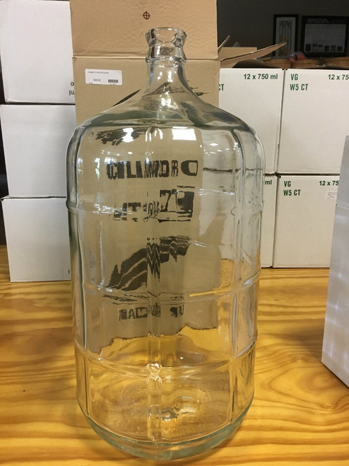 CARBOY 6.5 GALLON GLASS