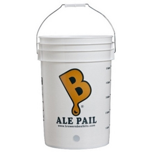 6.5 Gallon Ale Pail Bottling Bucket w/spigot (SL14)