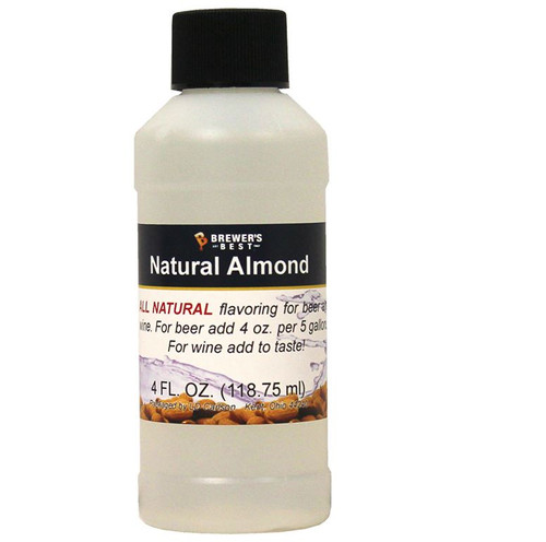 Almond Natural Flavoring Extract, 4 oz. (SL67)