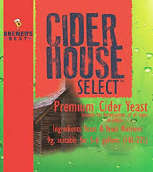 Cider House Select YEAST 9g. (SL28)