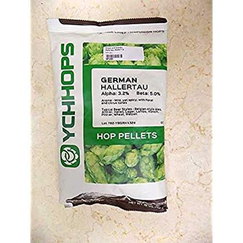 Hallertauer Hops Pellets - 1 lb (SL63)