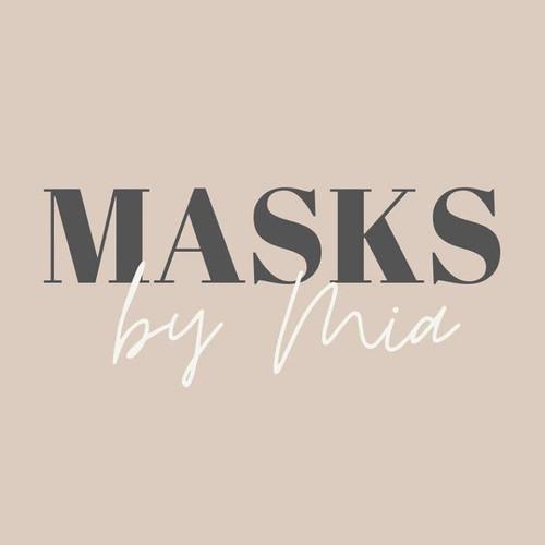 Wine Themed Masks by Mia (SL67)