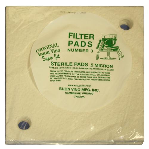 SuperJet Filter Pads | #3 Sterile (SL30)