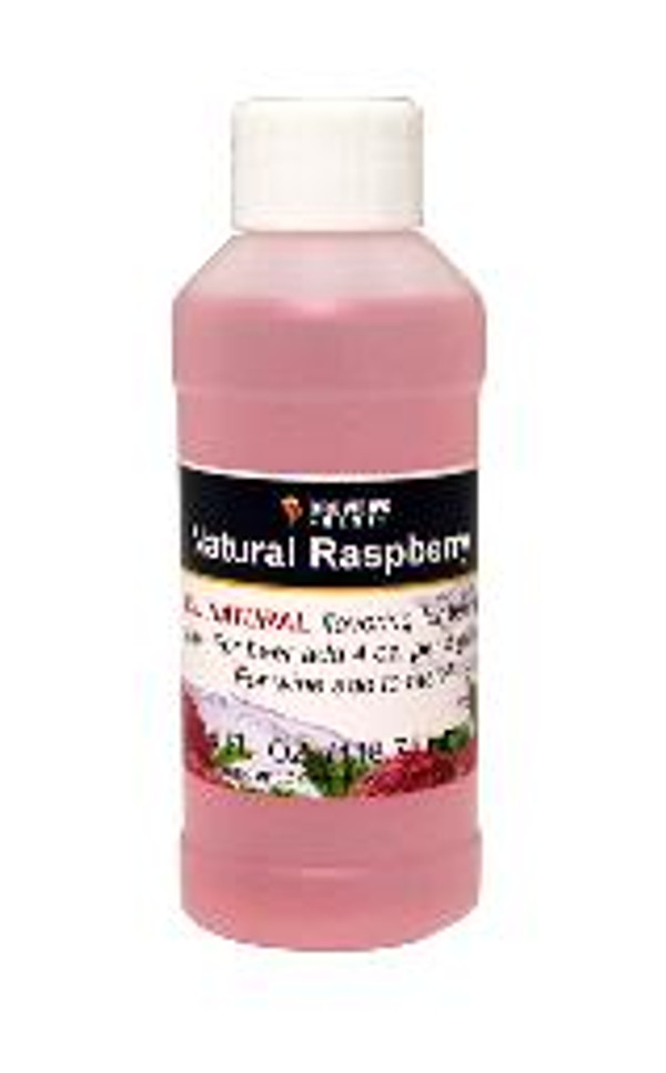 Raspberry Natural Fruit Flavoring Extract 4 oz