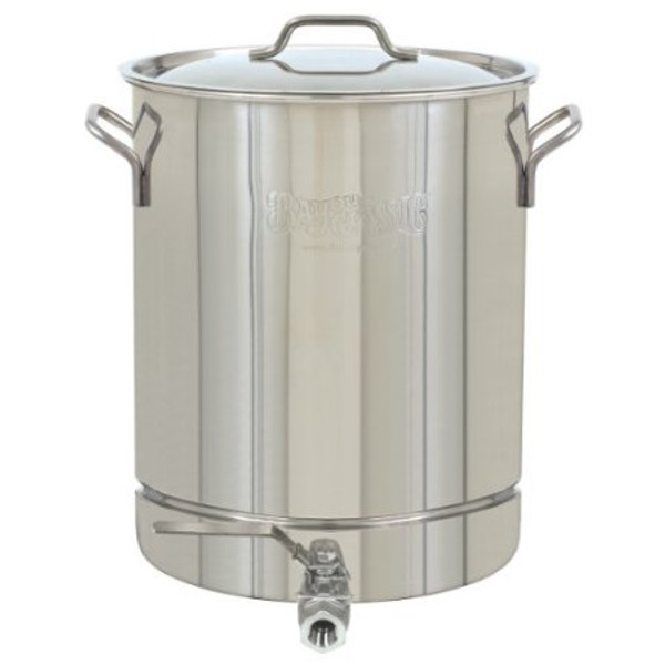 16 Gallon Stainless Brew Kettle w/ two ports (SL