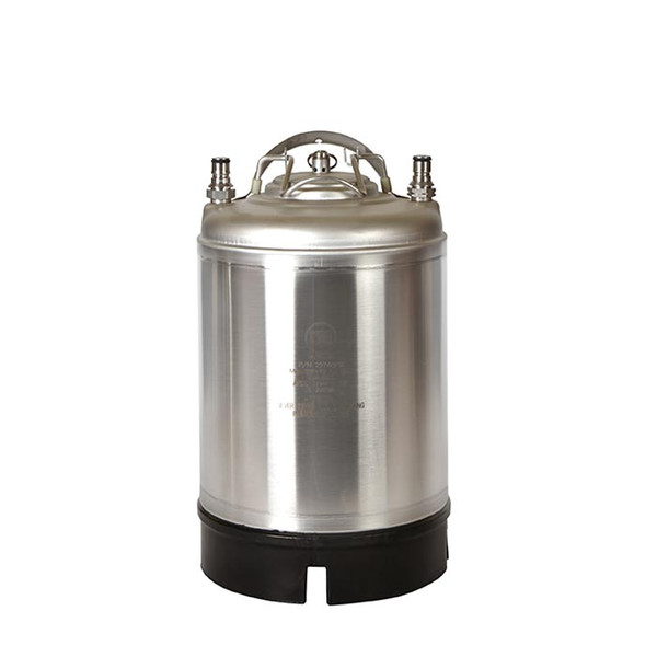 2.5 GALLON BALL LOCK KEG- NEW