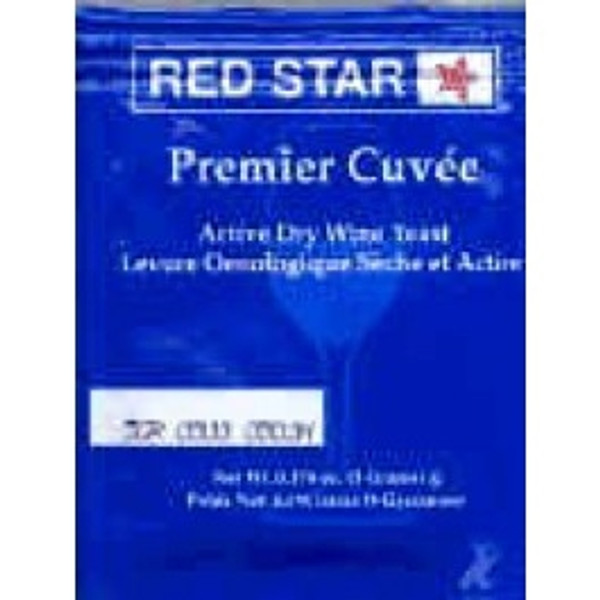 Red Star Premier Cuvee Wine Yeast 5 gm