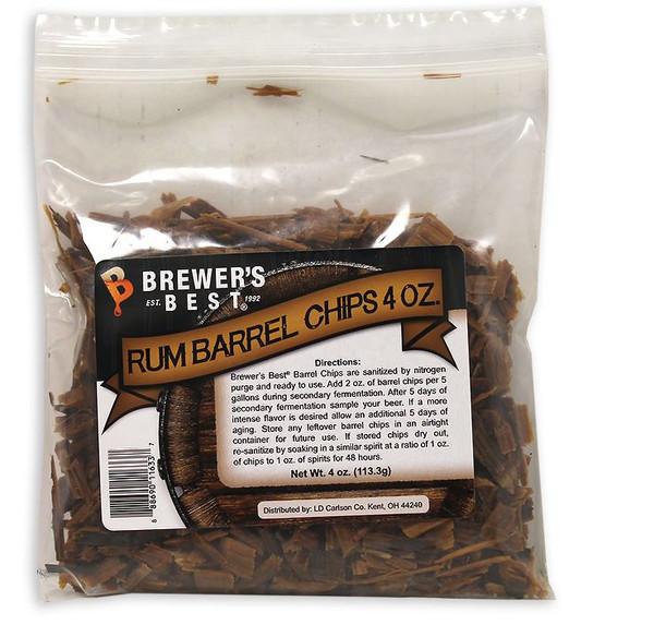 Barrel Chips: Rum 4oz