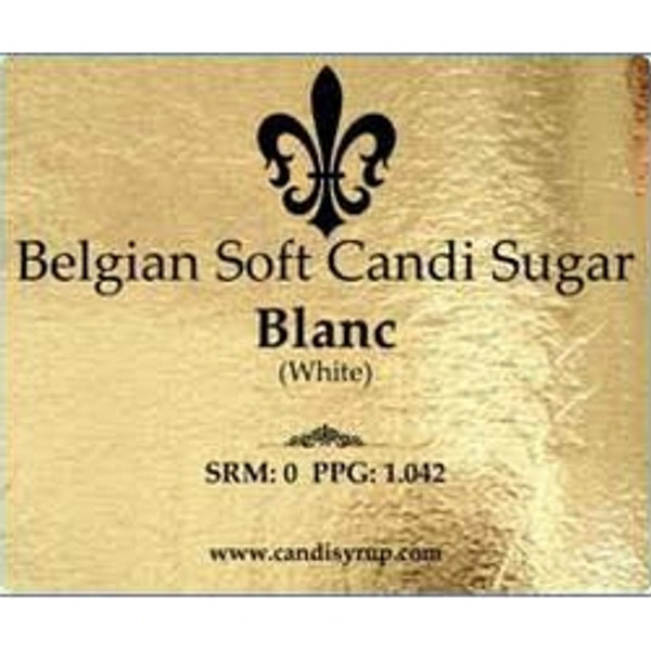 Belgian Soft Candi Sugar White