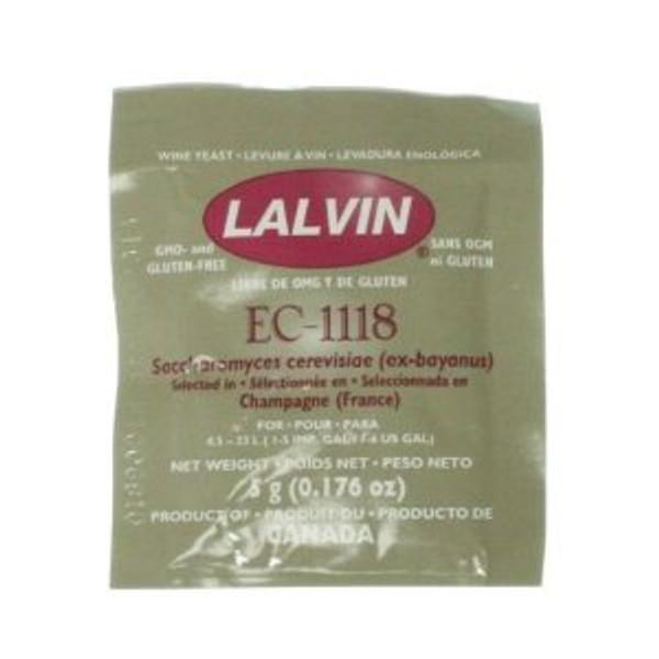 Lalvin EC-1118 Wine Yeast 5 g (SL64)