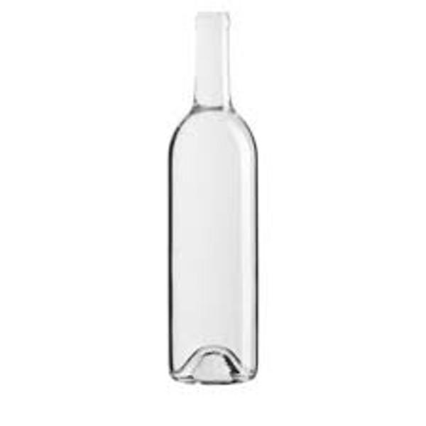 Wine Bottle 375 mL Case of 24 Clear (SL26)