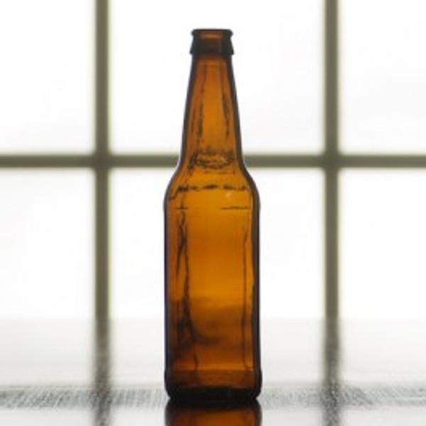 Beer Bottle | 12 oz Case of 24 Amber (SL68)