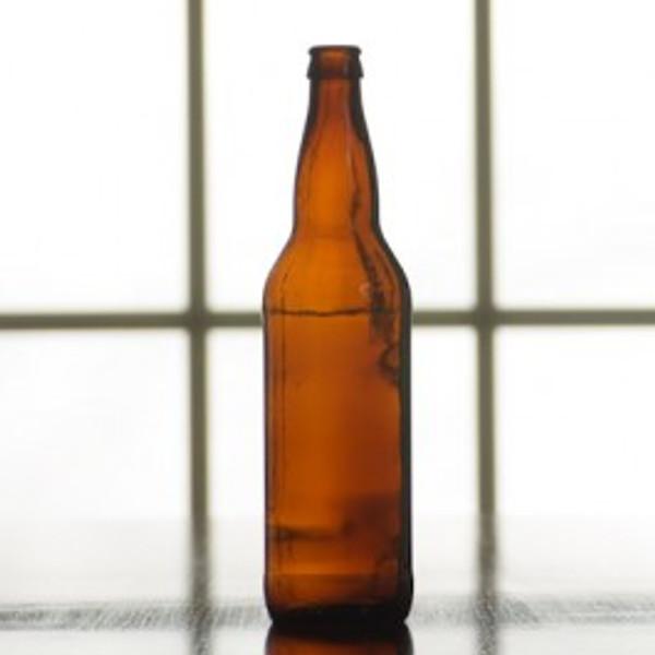 Beer Bottle | 22 oz Case of 12 Amber (SL68)