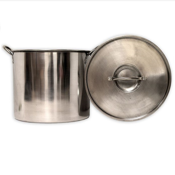 20 qt. Stainless Steel Pot with Lid (SL36)