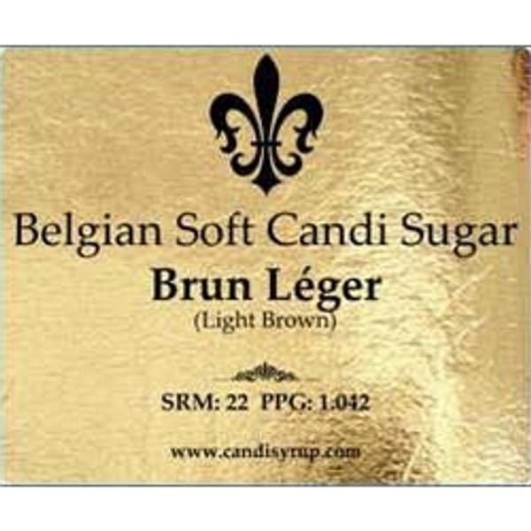 Belgian Soft Candi Sugar Light Brown