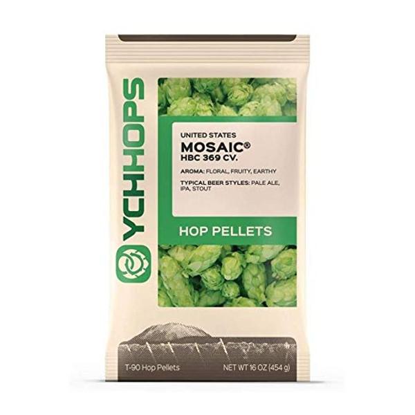 Mosaic Hop Pellets - 1 lb (SL63)