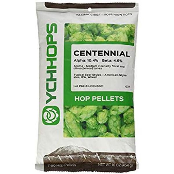 Centennial Hops Pellets - 1 lb