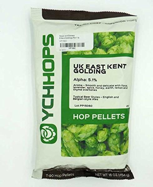 East Kent Golding (UK) Hops Pellets - 1lb