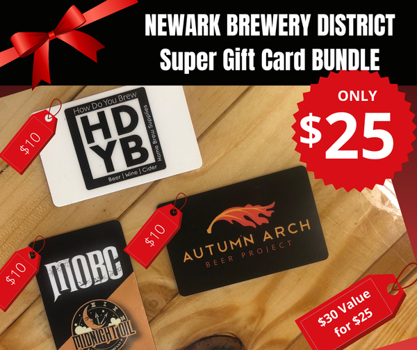 Newark Brewery District Super Gift Card Bundle | Online Purchase