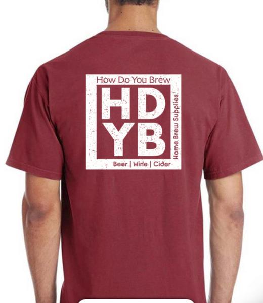 HDYB T-Shirt | RED  (SL68)