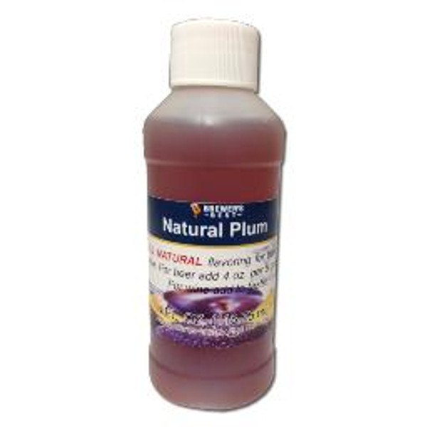 Plum Natural Fruit Flavoring Extract 4oz (SL67)