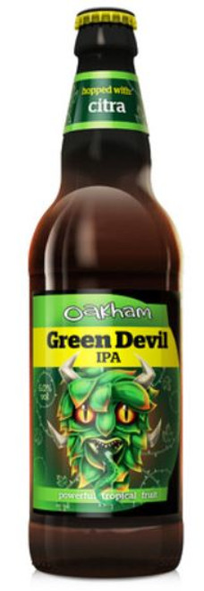 Oakham Green Devil IPA, 500ml