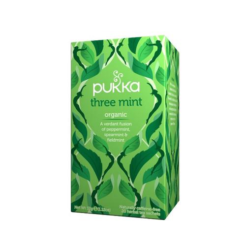 Pukka Organic Three Mint (20 Tea Sachets)