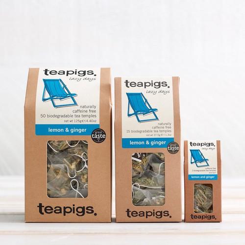 Teapigs Lemon and Ginger (15 Tea Temples)