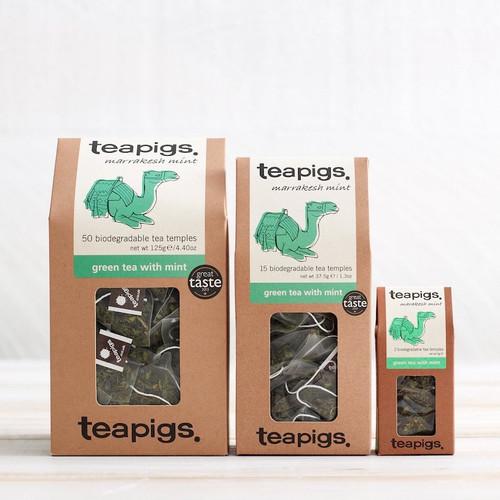 Teapigs Green Tea with Mint (15 Tea Temples)