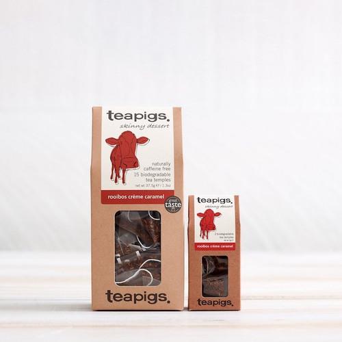 Teapigs Rooibos Creme Caramel (15 Tea Temples)