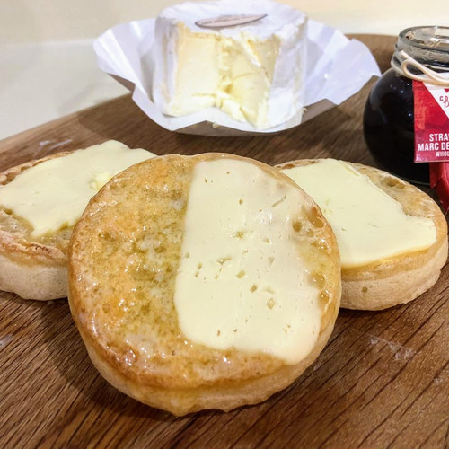 Pig & Whistle Traditional English Crumpet (Frozen)