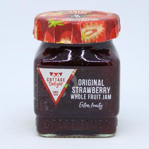 Cottage Delight Original Strawberry Whole Fruit Jam Mini Globe