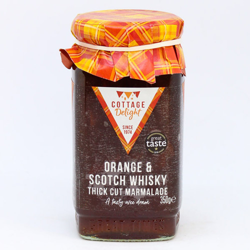 Cottage Delight Orange & Scotch Whiskey Thick Cut Marmalade
