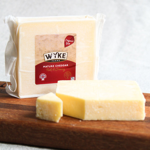 Wyke Farms Organic Mature Cheddar