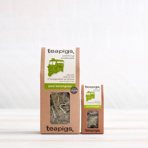 Teapigs Pure Lemongrass Tea (15 Tea Temples)