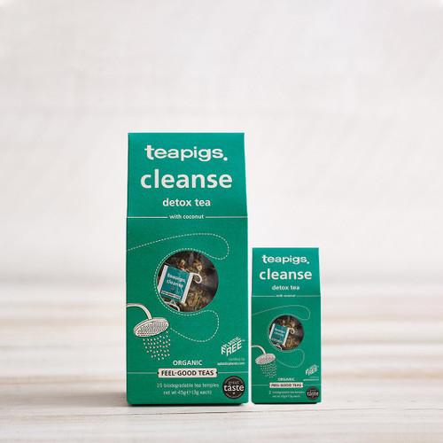Teapigs Cleanse with Coconut Tea (15 Tea Temples)