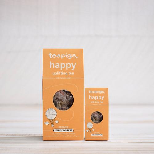 Teapigs Happy with Lemon Balm (15 Tea Temples)