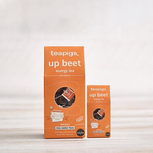 Teapigs Up Beet with Hibiscus (15 Tea Temples)