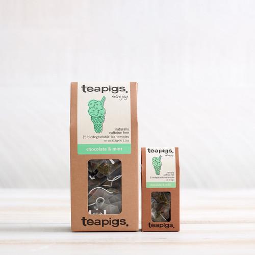 Teapigs Chocolate & Mint Tea (15 Tea Temples)