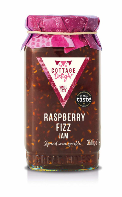 Cottage Delight Raspberry Fizz Jam