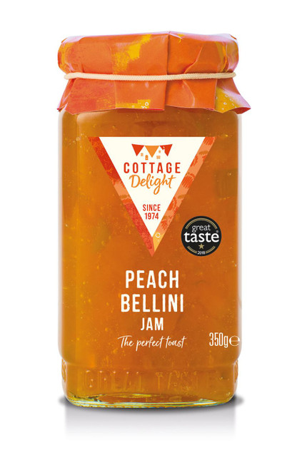 Cottage Delight Peach Bellini Jam