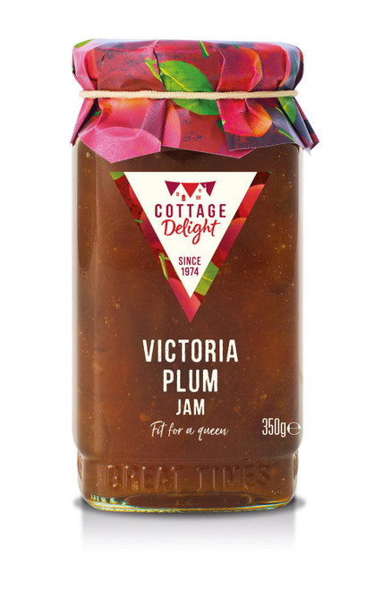 Cottage Delight Victoria Plum Jam