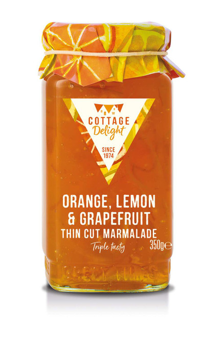 Cottage Delight Orange, Lemon & Grapefruit Thin Cut Marmalade