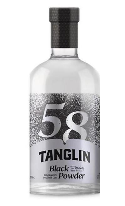 Tanglin Black Powder Gin 58% Alc. / Vol        500ml