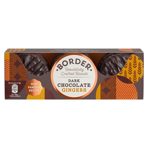 Border Biscuits Dark Chocolate Gingers