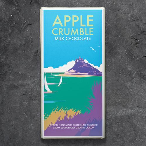 Kernow Apple Crumble Milk Chocolate - Becky Bettesworth Range