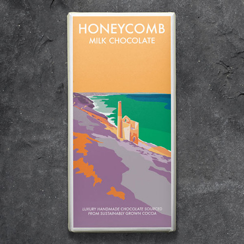 Kernow Honeycomb Milk Chocolate - Becky Bettesworth Range