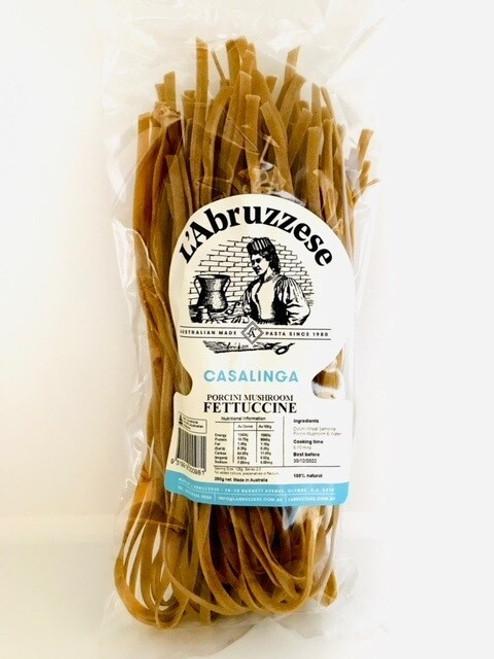 L'Abruzzese Casalinga Porcini Mushroom Fettucine